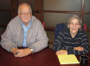 North Avenue Co-op President Rik Fenton and Secretary Jeanne Lieberman at the closing table. Photo credit: Wayne Savage